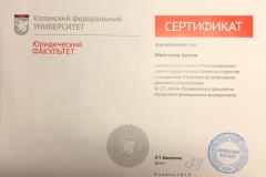 Казань сертификат Моисеевой